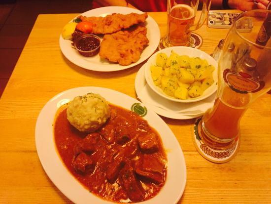 Authentic austrian food picture of salm braeu vienna for Food bar vienna