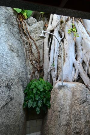 Tamarind Springs Tropical Villas: Our bathroom