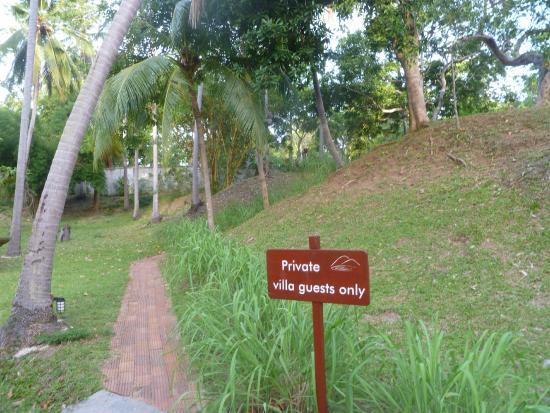 Tamarind Springs Tropical Villas: grounds
