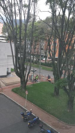 Holiday Inn Express Bogota: Vista desde la habitación