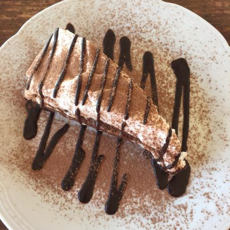 Las Cumbres: Torta brownie
