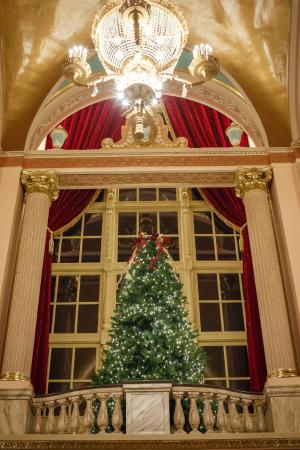 Morris Performing Arts Center: Grand Lobby Holiday Tree (Photo by Peter Ringenberg)