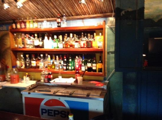 De Bistro: Angie's Bar has all the right liquors!