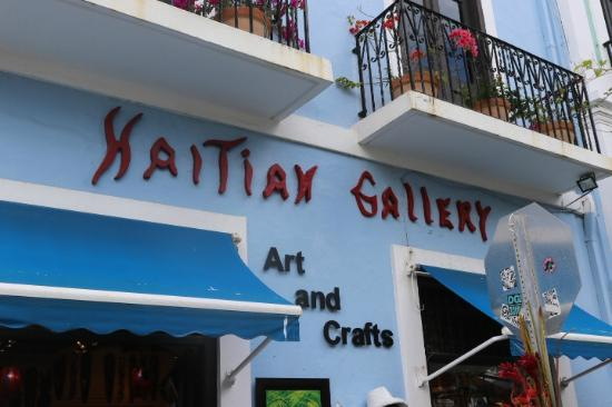 Haitian Gallery : Front Entrance