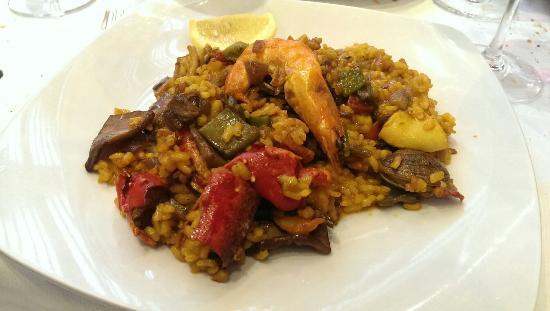 Restaurante Antonio: Paella de bogavante.