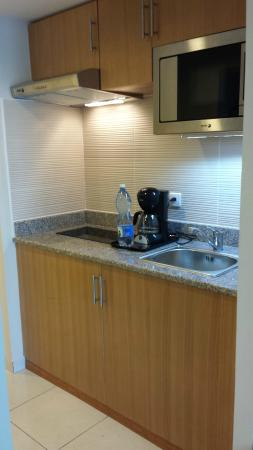 My kitchenette in the studio apartment - Picture of Hotel Melia ...