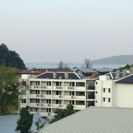 The Royal Nakara: view from my balcony looking out to the sea
