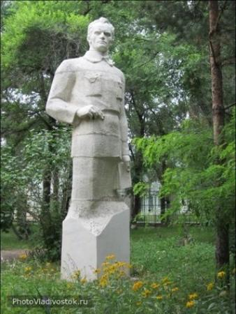 Arsenyev, Rusland: Памятник Арсеньеву у музея
