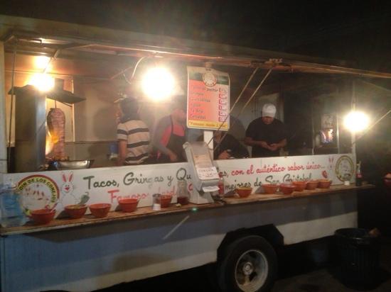 Tacos al pastor from jardin de los conejos picture of el for Bungalows el jardin retalhuleu guatemala