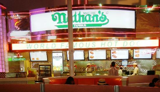 Northside Nathan's Pizza: Nathan's at Luxor
