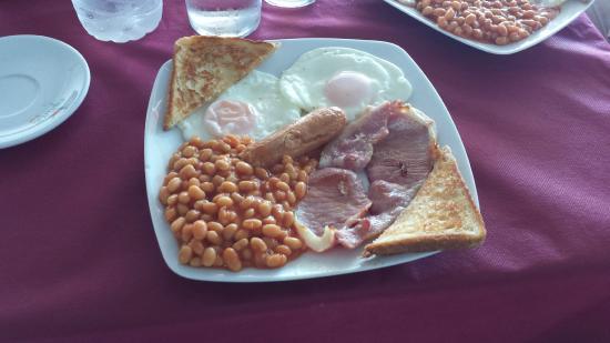 Cabo Roig, Spain: English Breakfast- Desayuno Inglés