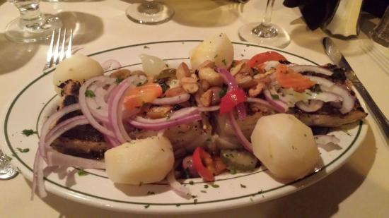 Bacalhau Assado Na Brasa Picture Of Madeira Restaurant East