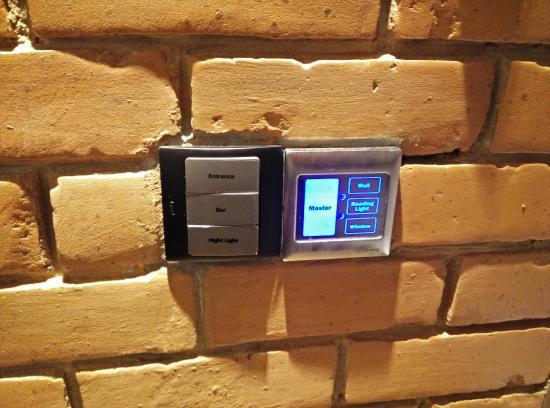 The Loft Hotel: Lighting control interface