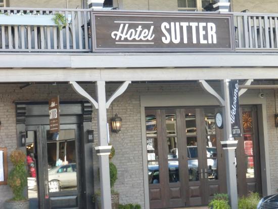 Hotel Sutter The Front Door