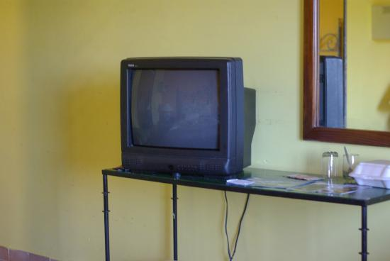 Hotel El Bosque: TV in Room