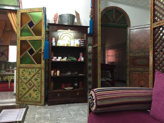 Mains de Fees: Une des salles de massage
