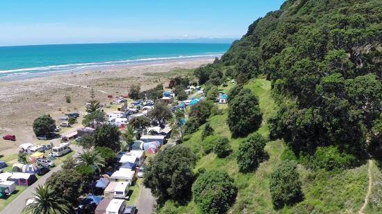Ohiwa Beach Holiday Park: Bush meets the beach