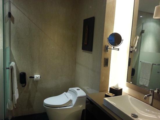Hotel Tentrem Yogyakarta Kamar Mandi Tertata Shower Dan Bathtub Terpisah