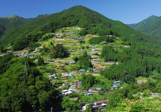 Miyoshi, Japan: Ochiai-shuraku(community of Ochiai)