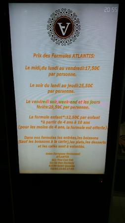 St-Quentin, Fransa: les tarifs