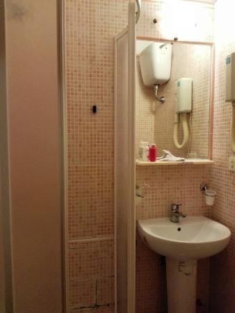Hotel Cortorillo: bathroom