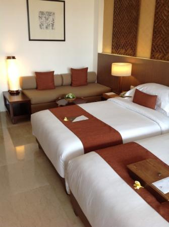 Bali Niksoma Boutique Beach Resort: Nicely Decorated Rooms