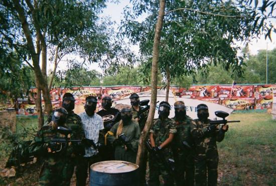 The Red Paintball