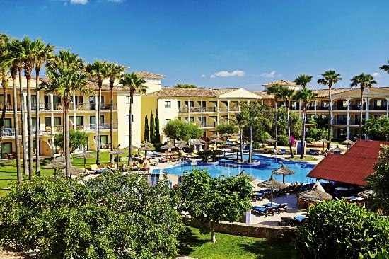 Sentido mallorca palace sa coma spanien omd men och for Design hotel mallorca strand