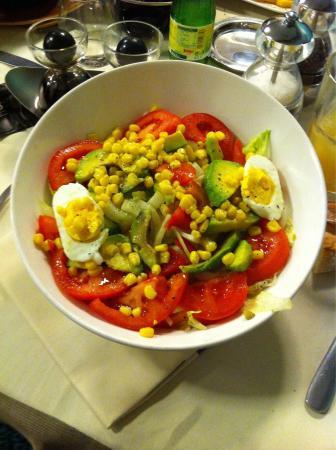 L'Exocet : La salade exotique.