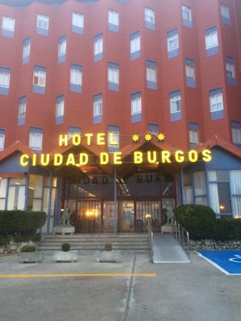 Hotel Ciudad de Burgos : Entrée hôtel