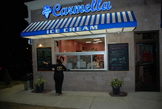 ‪‪Fairfield‬, نيو جيرسي: Carmella Ice Cream‬