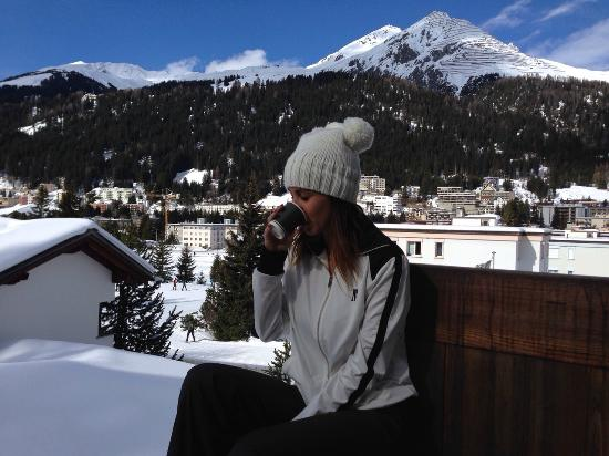 Arabella Hotel Waldhuus Davos: Vista habitacion