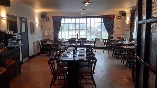 The Waggon & Horses: Nice big breakfast room