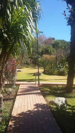 Domaine de la Roseraie: vue d une partie du jardin