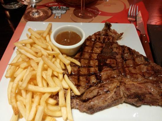 Hippopotamus Arcueil: Steak