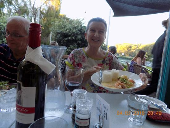 Spinnakers: Great meal