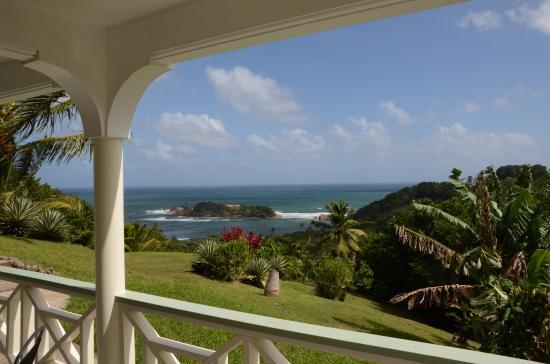 Bay View Lodges : Blick von der Terrasse