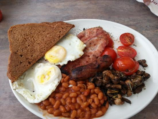 Caffe Java: Scrummy breakfast