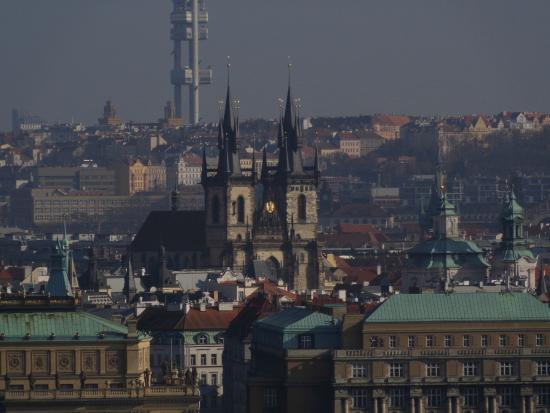 Hradschin (Burgstadt/Hradčany): Vistas desde el barrio del castillo