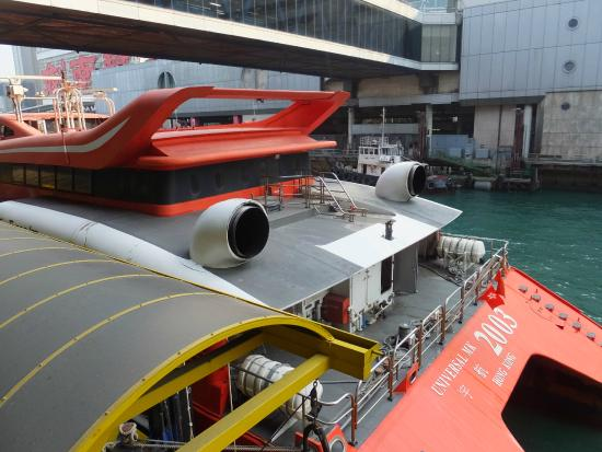 how to get from hong kong to macau ferry terminal