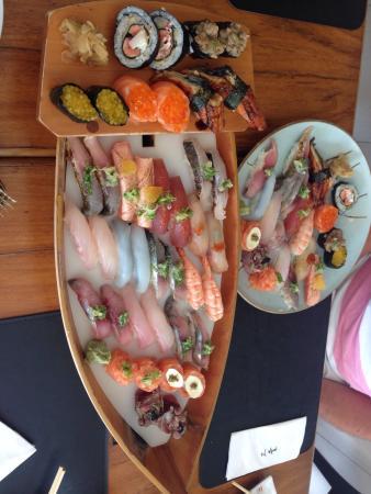 Restaurante Mitsuba: Combinado do chefe