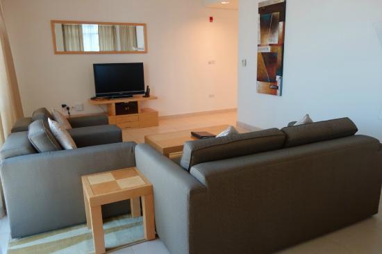 Living Room - Picture of Oaks Liwa Heights, Dubai - TripAdvisor