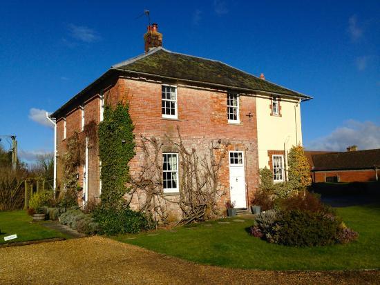 Home Farm Boreham: A beautiful winter's morning at Home Farm