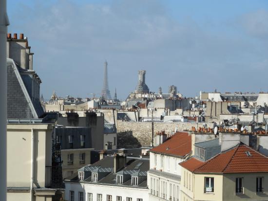 Hotel Baudin: Blick auf den Eiffelturm