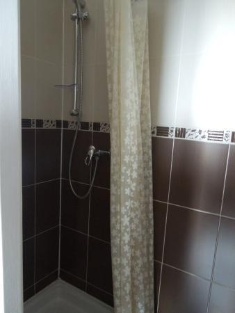 Hotel Baudin : Dusche