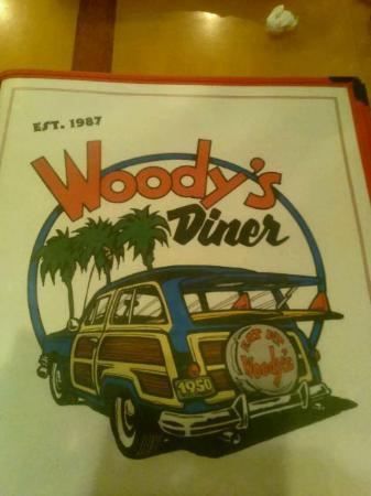 Woody's Diner III: Menu