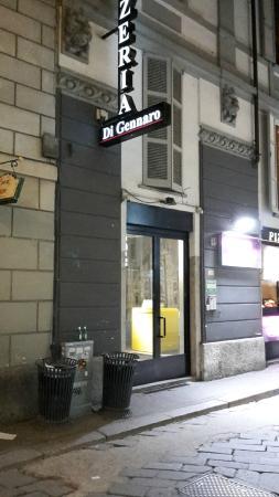 TH Street : entrée de l'hotel