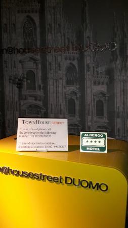 TH Street Duomo : Accueil de l'hotel