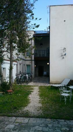 Resort BikeOn : Il cortile interno