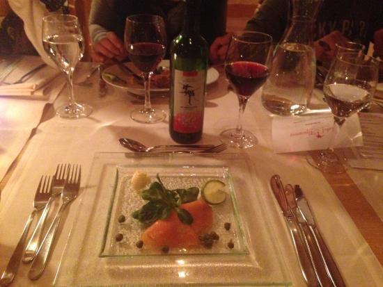Hotel Alpenrose: Dinner